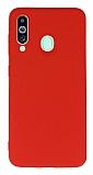 Samsung Galaxy M40 Rainbow Kırmızı Silikon Kılıf