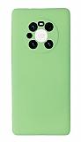 Huawei Mate 40 Pro Kamera Korumalı Yeşil Silikon Kılıf