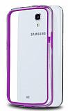 Samsung Galaxy Mega 6.3 Bumper �er�eve Mor K�l�f