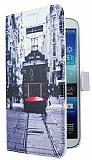 Samsung Galaxy Mega 6.3 Taksim C�zdanl� Yan Kapakl� K�l�f