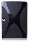 Samsung Galaxy Note 10.1 2014 Edition Desenli Siyah Silikon K�l�f