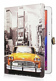 Samsung Galaxy Note 10.1 2014 Edition Sar� Taksi Standl� Yan Kapakl� Deri K�l�f