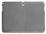 Samsung Galaxy Note 10.1 2014 Edition SM-P600 �effaf Siyah Silikon K�l�f