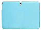 Samsung Galaxy Note 10.1 2014 Edition SM-P600 �effaf Mavi Silikon K�l�f