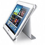 Samsung Galaxy Note 10.1 Orjinal Standl� Book  Beyaz K�l�f
