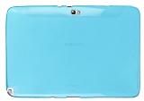 Samsung Galaxy Note 10.1 �effaf Mavi Silikon K�l�f