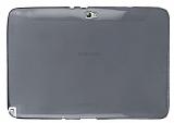 Samsung Galaxy Note 10.1 �effaf Siyah Silikon K�l�f