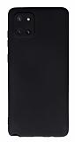 Samsung Galaxy Note 10 Lite Kamera Korumalı Siyah Silikon Kılıf