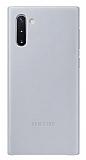 Samsung Galaxy Note 10 Orjinal Gri Deri Kılıf