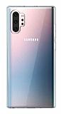 Samsung Galaxy Note 10 Plus Ultra İnce Şeffaf Silikon Kılıf