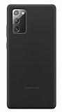Samsung Galaxy Note 20 Orjinal Siyah Silikon Kılıf
