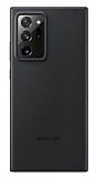 Samsung Galaxy Note 20 Ultra Orjinal Siyah Deri Kılıf