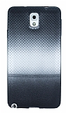 Samsung N9000 Galaxy Note 3 Silver Noktalı Ultra İnce Silikon Kılıf