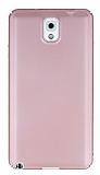Samsung Galaxy Note 3 Tam Kenar Koruma Rose Gold Rubber Kılıf
