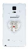 Samsung Galaxy Note 4 Ta�l� Love �effaf Silikon K�l�f
