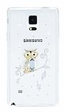 Samsung Galaxy Note 4 Ta�l� Bayku� �effaf Silikon K�l�f