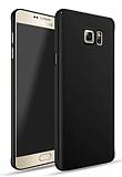 Samsung Galaxy Note 5 Tam Kenar Koruma Siyah Rubber Kılıf