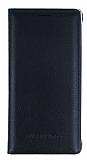 Samsung Galaxy Note 7 Cüzdanlı İnce Yan Kapaklı Siyah Deri Kılıf