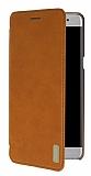 Samsung Galaxy Note 7 Kapaklı Kahverengi Deri Kılıf