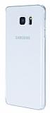 Samsung Galaxy Note FE Tam Kenar Koruma Şeffaf Rubber Kılıf