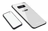 Samsung Galaxy Note 8 Manyetik Şarj Özelikli Powerbank ve Beyaz Kılıf