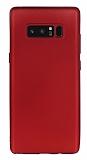 Samsung Galaxy Note 8 Mat Kırmızı Silikon Kılıf