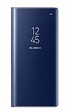 Samsung Galaxy Note 8 Orjinal Clear View Uyku Modlu Lacivert Kılıf