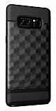 Samsung Galaxy Note 8 Prizma Desenli Ultra Koruma Siyah Kılıf