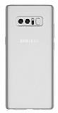 Samsung Galaxy Note 8 Ultra İnce Şeffaf Silikon Kılıf