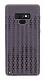 Samsung Galaxy Note 9 Delikli Siyah Silikon Kılıf