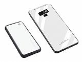 Samsung Galaxy Note 9 Manyetik Şarj Özelikli Powerbank ve Beyaz Kılıf