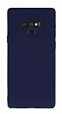 Samsung Galaxy Note 9 Mat Lacivert Silikon Kılıf