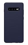 Samsung Galaxy S10 Mat Lacivert Silikon Kılıf