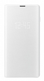 Samsung Galaxy S10 Orjinal Led View Cover Beyaz Kılıf