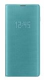 Samsung Galaxy S10 Orjinal Led View Cover Yeşil Kılıf