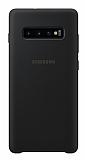Samsung Galaxy S10 Orjinal Siyah Silikon Kılıf