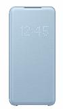Samsung Galaxy S20 Orjinal Led View Cover Mavi Kılıf