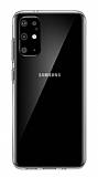 Samsung Galaxy S20 Plus Şeffaf İnce Silikon Kılıf