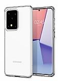 Samsung Galaxy S20 Ultra Şeffaf İnce Silikon Kılıf