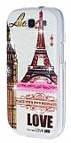 Samsung Galaxy S3 / S3 Neo Ta�l� Eiffel Kulesi Silikon K�l�f