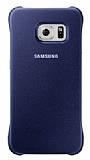 Samsung Galaxy S6 Edge Orjinal Lacivert Rubber Kılıf