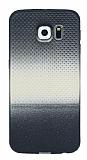 Samsung Galaxy S6 Noktalı Ultra İnce Gold Silikon Kılıf