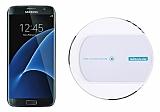 Samsung Galaxy S7 Edge Nillkin Magic Disk II Beyaz Kablosuz Şarj Cihazı