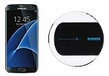 Samsung Galaxy S7 Edge Nillkin Magic Disk II Siyah Kablosuz Şarj Cihazı
