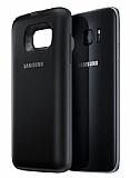Samsung Galaxy S7 Edge Orjinal Kablosuz Şarj Özellikli Siyah Kılıf