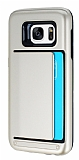 Samsung Galaxy S7 Kartlıklı Ultra Koruma Gold Kılıf