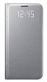 Samsung Galaxy S7 Orjinal LED Cover Silver Kılıf