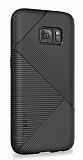 Samsung Galaxy S7 Pavis Siyah Silikon Kılıf