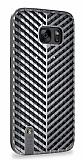 Samsung Galaxy S7 Targa Dark Silver Rubber Kılıf