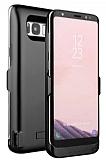 Samsung Galaxy S8 5500 mAh Siyah Bataryalı Kılıf